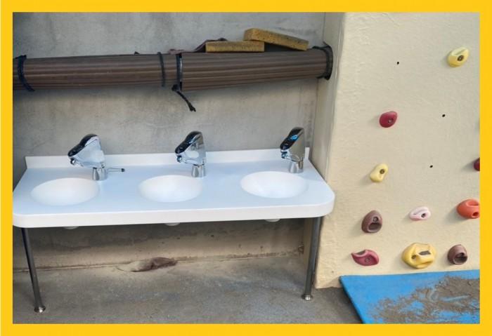保育園手洗場